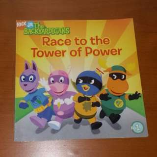 Nick Jr The Backyardigans Race To The Tower Of Power