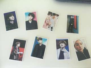 BTS Suga Photo Cards