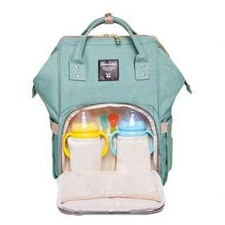 Fashion Mummy Maternity Nappy Bag Large Capacity Baby Bag Travel Backpack