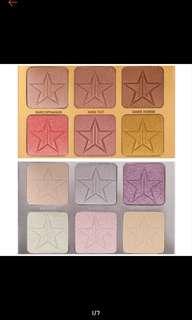 (Po) Authentic Jeffree Star Skin Frost Pro Palette * 2 Types*
