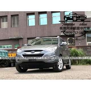 【FB搜尋桃園阿承】現代 超人氣IX35 2011年 2.0 灰色 二手車 中古車