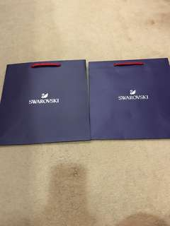 Swarovski paperbag