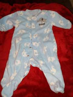 Carter's mommy's big guy frogsuit