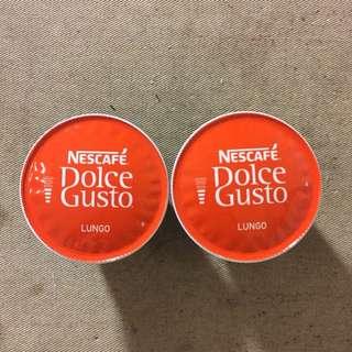 🚚 雀巢 Dolce Gusto 膠囊咖啡 Lungo 低咖啡因 美式濃黑咖啡