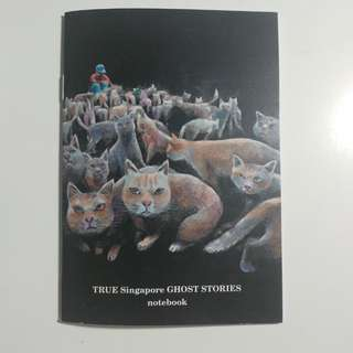 TRUE Singapore GHOST STORIES notebook