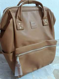 Anello Brown Leather Bag