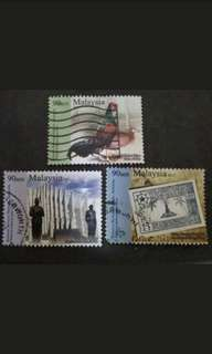 Malaysia 2011 Loose Set - 3v Used Stamps
