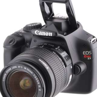 Canon EOS Rebel T3 Caméra Kit, EF-18-55mm and EF 75-300 lenses