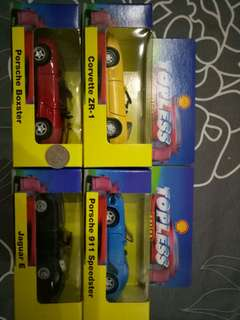 Topless series (4 cars)