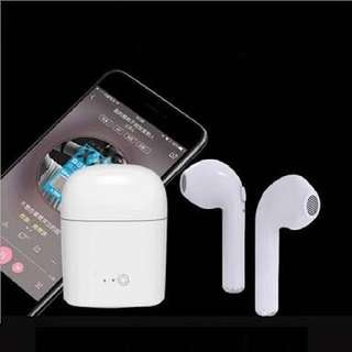 Wireless Twin Bluetooth earbuds earphones headphones with battery case