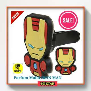 Parfum Mobil Vent Clip Model Iron Man