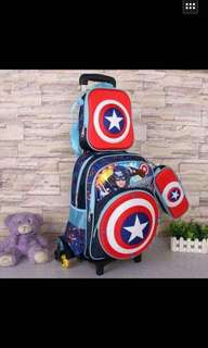 3in1 trolley bag for kids