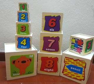 Animal Digital Box Stacking Toy