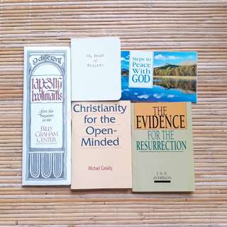 Christian Tracts and Bookmark