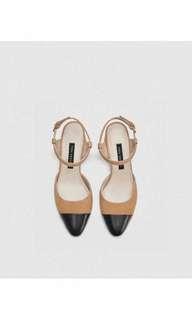 Zara combine heels