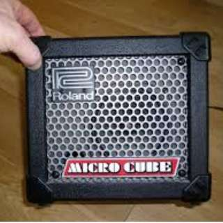 Roland Micro Cube for Electric Guitar