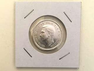 🚚 1941年澳大利亞先令銀幣