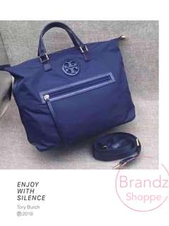 👑Best Item! Tory Burch Nylon Shopping Tote (Navy / Black) Pre-Order Now!!!