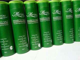 Marine essence bamboo salt shampoo