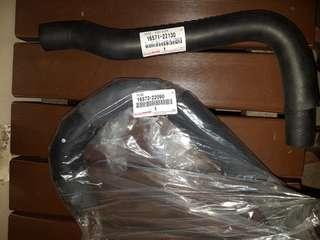 Toyota wish 2007 radiator hose, 1 set (original)
