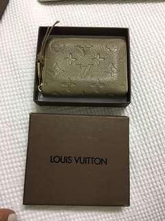 Louis Vuitton wallet grey