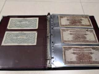 Old notes collection