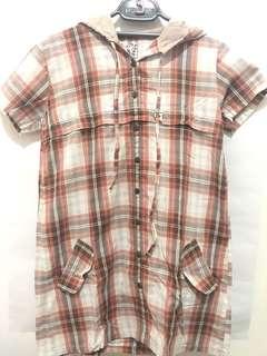 Heath hooded shirt