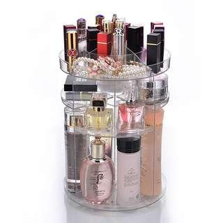 360 degree rotating cosmetic storage