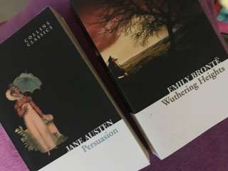 Persuassion and Wuthering Heights
