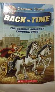 Geronimo Stilton:Back In Time The Second Journey Through Time