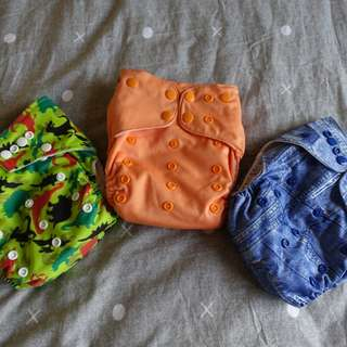 Baby Land, Quigle Bum and Baby Love Cloth Diaper