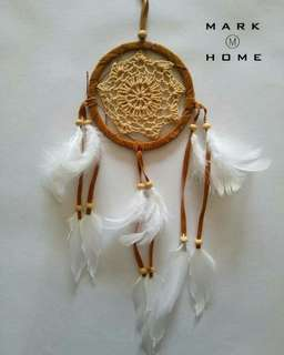 Handmade Tradition Indian Dream Catcher with Feather Wall/Car Hanging Decoration Ornament