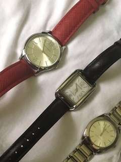 Three Anne Klein watches for one low price