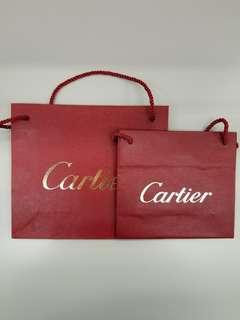 Cartier 紙袋 (中/細)