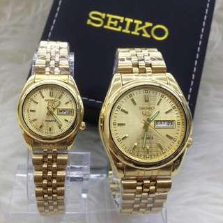 Seiko couple watch