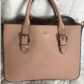 Kate Spade - millenial pink bag