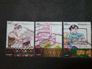 Malaysia 2012 Loose Set - 3v Used Stamps $2