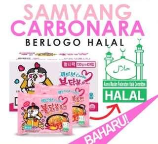 Ramen Samyang Carbonara Halal