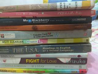 Paket borong novel mix