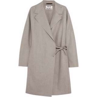 Acne studio wool coat
