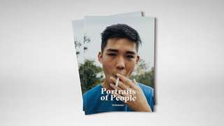 Portraits of People - Photo zine