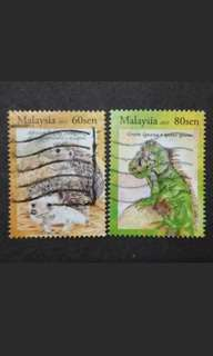 Malaysia 2013 Loose Set - 2v Used Stamps #2