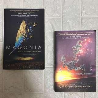 Magonia series by Maria Dahvana Headley