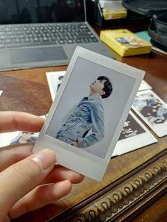 BTS love yourself tear polaroid jhope hoseok