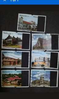Malaysia 2013 Loose Set - 7v Used Stamps