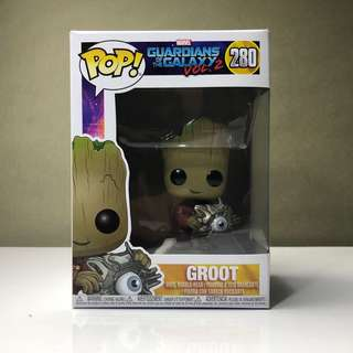Funko Pop Groot Guardians of the Galaxy Vol.2 FYE Exclusive