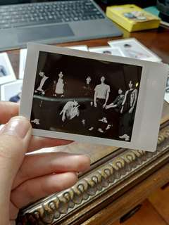 BTS love yourself tear polaroid group