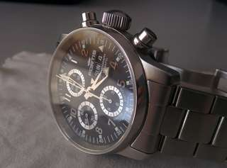 FORTIS Classic Flieger Chronograph Limited Edition SWISS AUTO RARE