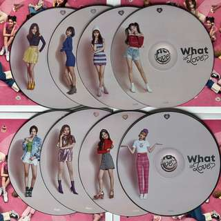 Twice What is Love 專輯 CD + Photo Book
