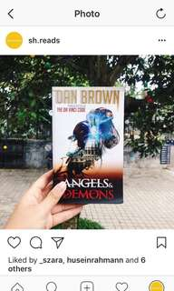 Dan Brown - Angels and Demons ((HARGA PAS))